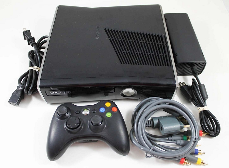 XBOX 360 SLIM 250GB ORIGINAL
